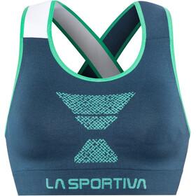 La Sportiva Focus T-shirt zippé Femme, opal/aqua